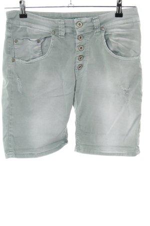 Please Five-Pocket Trousers khaki casual look