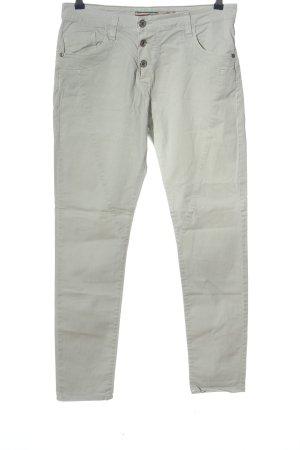 Please Pantalón de cinco bolsillos gris claro look casual