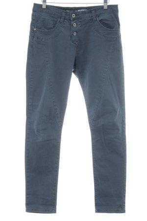 Please Five-Pocket-Hose blau Casual-Look