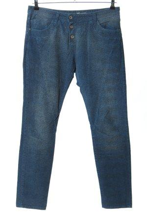 Please High-Waist Hose blau Casual-Look