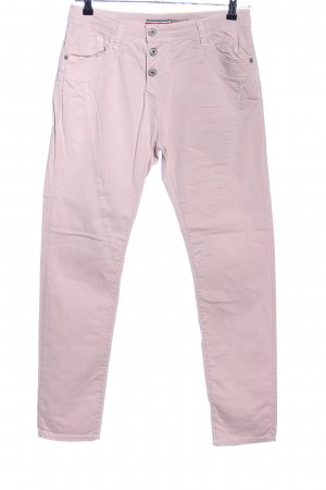 Please Hoge taille broek roze casual uitstraling