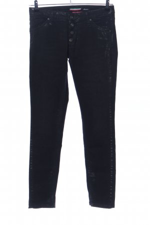 Please Hoge taille jeans zwart casual uitstraling