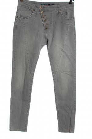 Please High Waist Jeans hellgrau Casual-Look