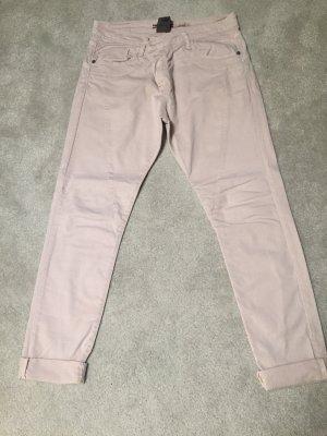 Please Pantalone boyfriend rosa pallido