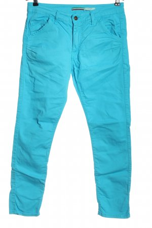 Please Low-Rise Trousers blue casual look