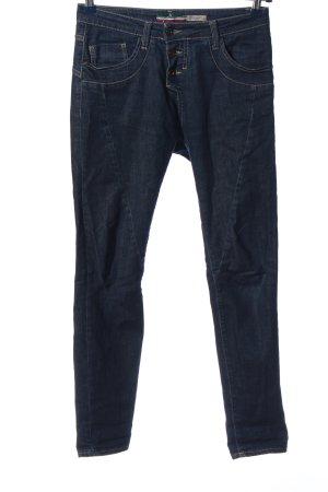 Please Jeans vita bassa blu stile casual