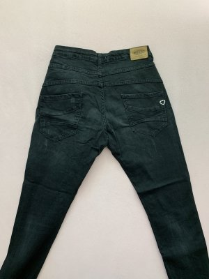 Please Tube jeans donkergrijs-antraciet