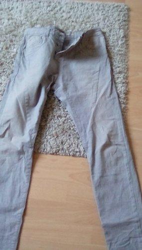 PLEASE Denim Jeans boyfriend beige-beige clair coton