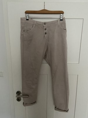 Please Pantalon boyfriend crème-beige