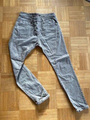 Please Jeans boyfriend gris