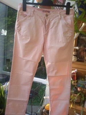 Please Pantalón de cinco bolsillos rosa empolvado-rosa