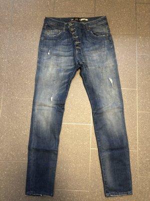 Please Boyfriend jeans blauw