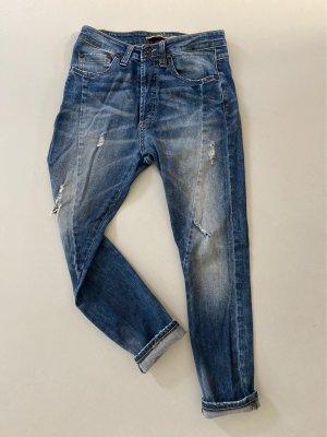 Please Workowate jeansy niebieski