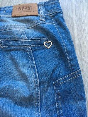 Please Jeans, Modell P67, mit Reisverschluss, Größe S