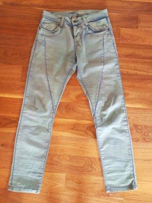 PLEASE Denim Boyfriend Jeans pale blue-blue