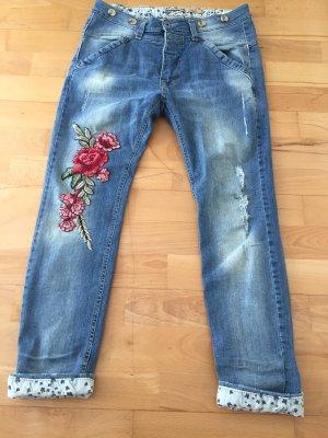 PLEASE Denim Jeans boyfriend bleu
