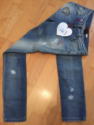 Please Jeans S Damen 36 blau Neu mit Etikett Sticker