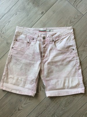 Please Jeans Short Gr S hellrosa batik