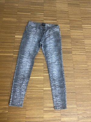 Please Jeans skinny Gr. M grau