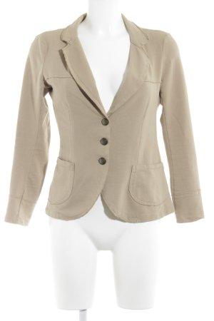 Please Jerseyblazer beige-bronzefarben Casual-Look