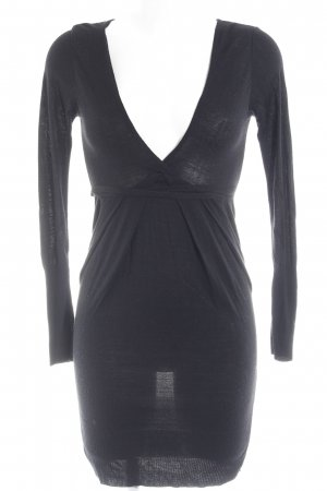 Please Jerseykleid schwarz Business-Look