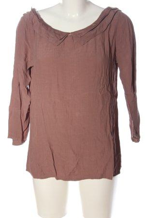 Please Langarm-Bluse pink Casual-Look