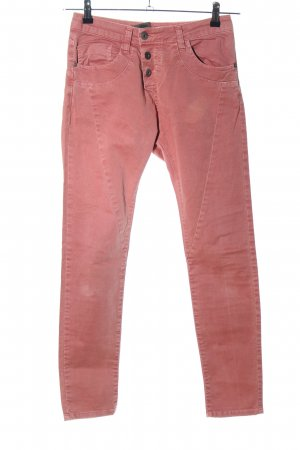 Please Now Baggy jeans licht Oranje casual uitstraling