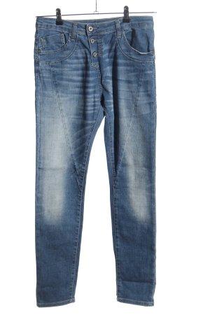 Please Now High Waist Jeans blau Casual-Look