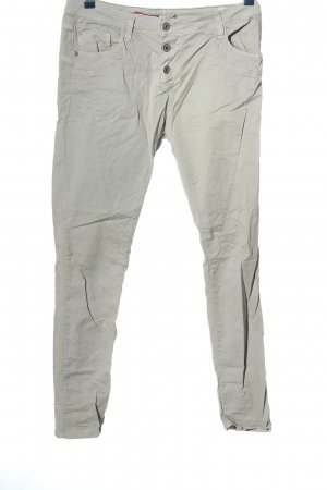 Please Now Carrot Jeans light grey casual look