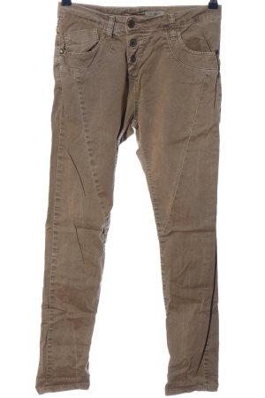 Please Now Jeans cigarette brun style décontracté