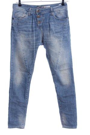 Please Now Jeans cigarette bleu style décontracté