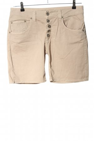 Please Now Shorts wollweiß Casual-Look