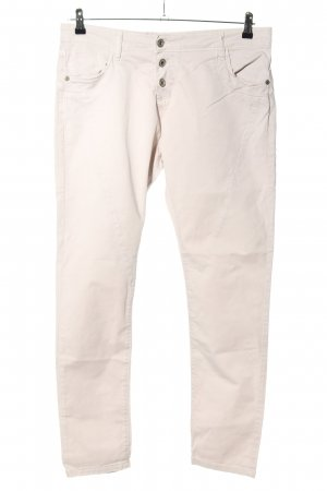 Please Now Slim Jeans wollweiß Casual-Look