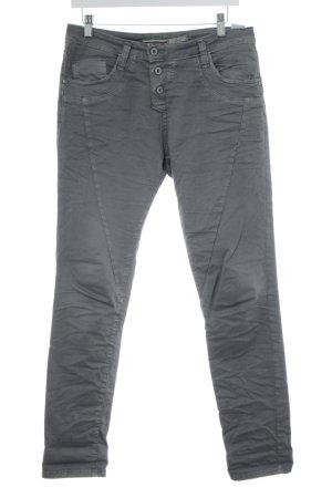 Please Now Slim Jeans hellgrau Street-Fashion-Look