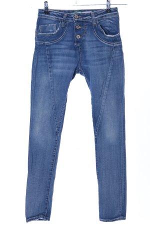 Please Now Slim Jeans blau Casual-Look