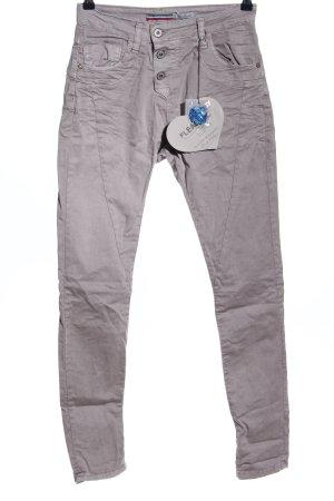 Please Now Slim Jeans brown casual look
