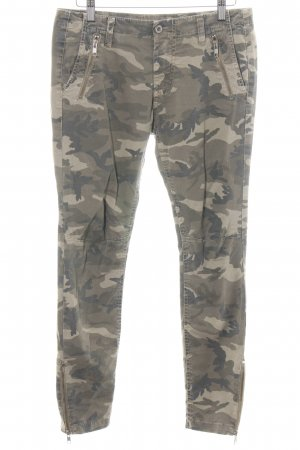 Please Now Slim Jeans Camouflagemuster Casual-Look