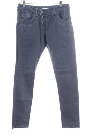 Please Now Slim Jeans graublau Casual-Look
