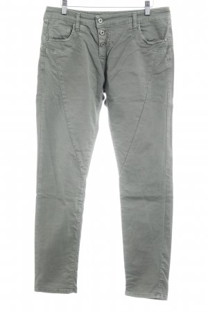 Please Now Slim Jeans khaki Casual-Look