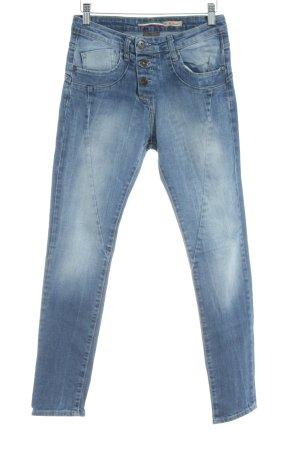 Please Now Straight-Leg Jeans kornblumenblau Casual-Look