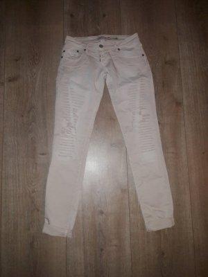 Please Pantalone chino crema-beige chiaro