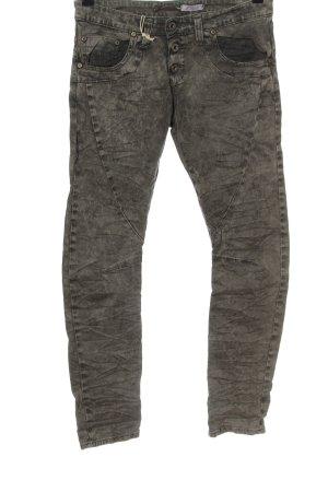 Please Drainpipe Trousers light grey casual look