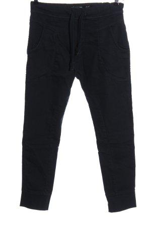 Please Drainpipe Trousers black casual look