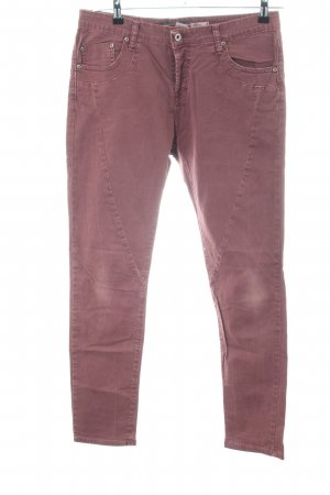 Please Röhrenhose pink Casual-Look