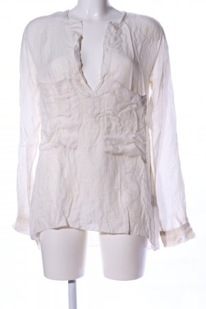Please Slip-over Blouse natural white casual look