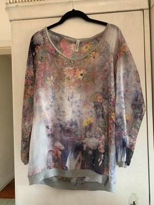 Please Shirt-Bluse in Multicolor