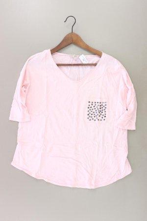 Please Shirt mit V-Ausschnitt Größe XS neuwertig 3/4 Ärmel mit Nieten pink