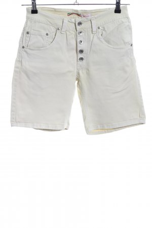 Please Shorts wollweiß Casual-Look