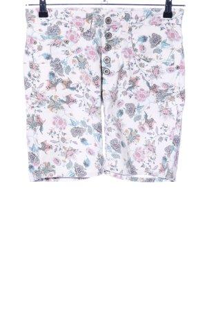 Please Shorts Blumenmuster Casual-Look