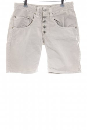 Please Shorts wollweiß Casual-Look